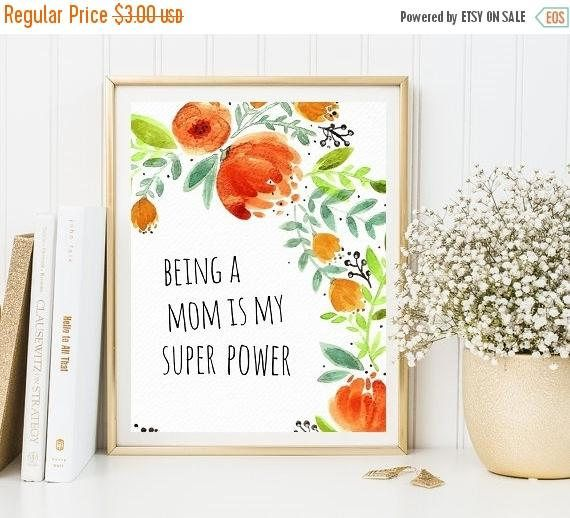 mom quote, printable quote, printable floral poster, quotes, floral quotes, rose floral quotes, mom quotes, floral printable #ad #afflink