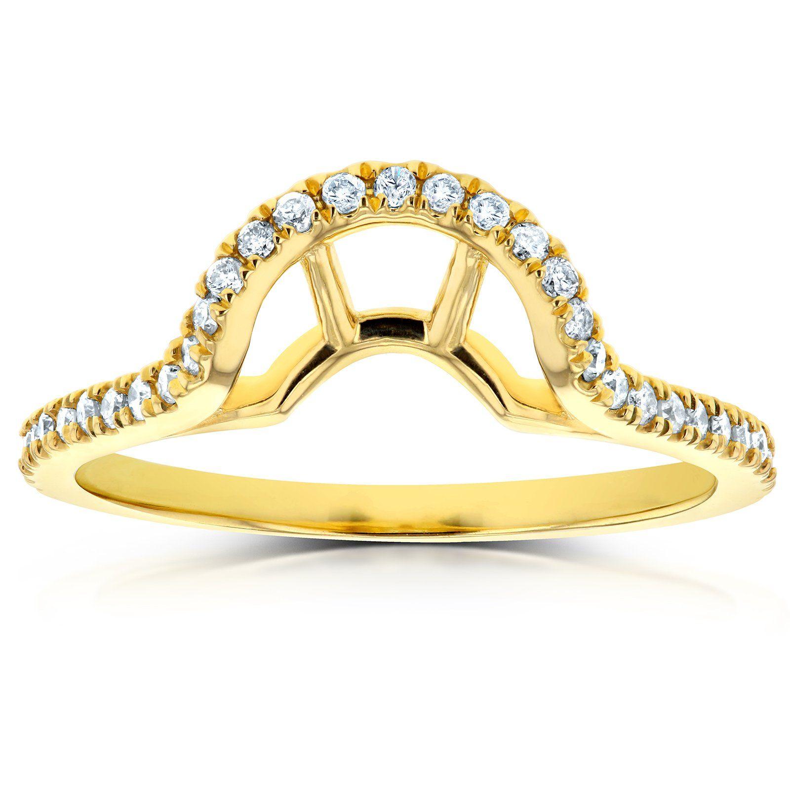 Lab Grown Diamond Notched Basket Curve Wedding Band 1/4