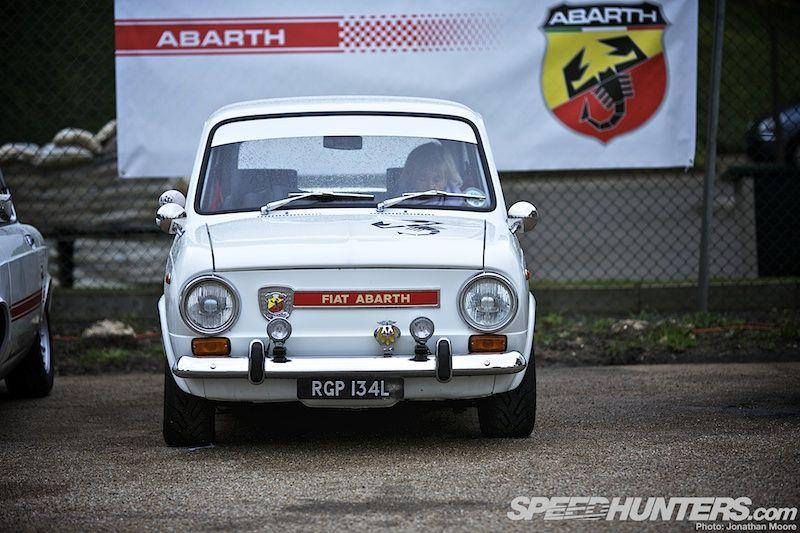Brooklands Italian Job Fiat Abarth Fiat Fiat Cars