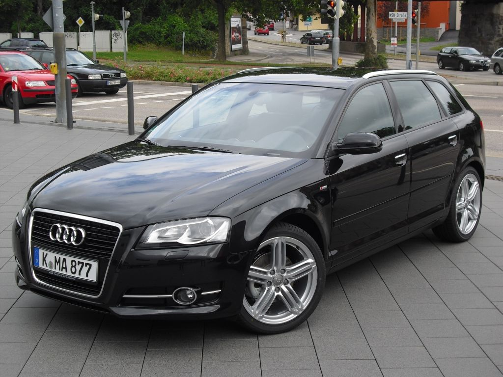 Audi A3 Sportback SLine. Have had 3 of these. Simply