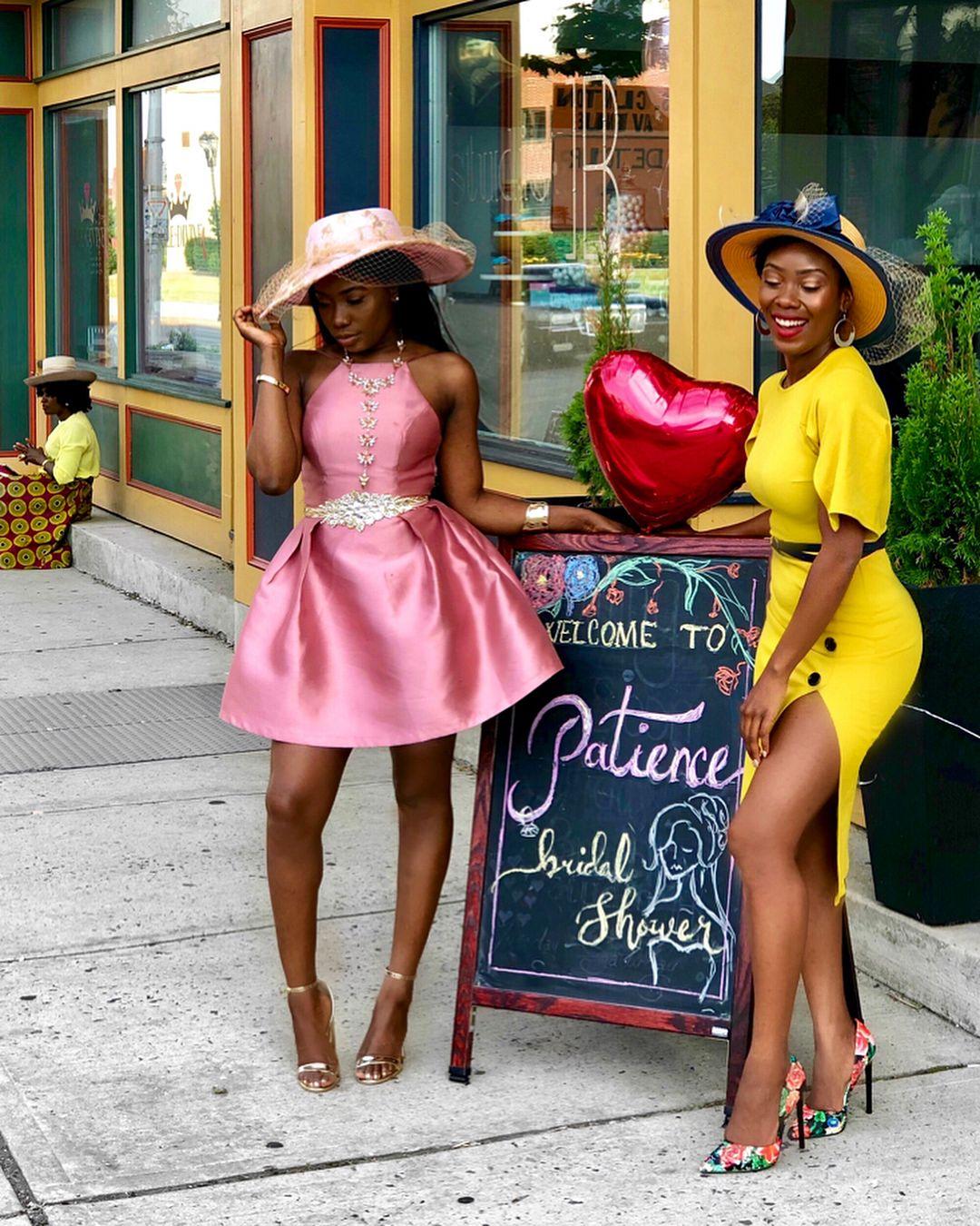 Liberian Girls Meetthecole2018 Patience S Bridal Tea Party Tea Party Attire Tea Party Outfits Tea Party Dress [ 1350 x 1080 Pixel ]