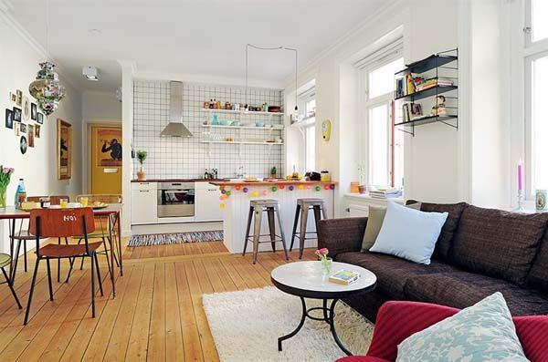 Master Bedroom Ideas Open Plan Kitchen Living Room Small Open