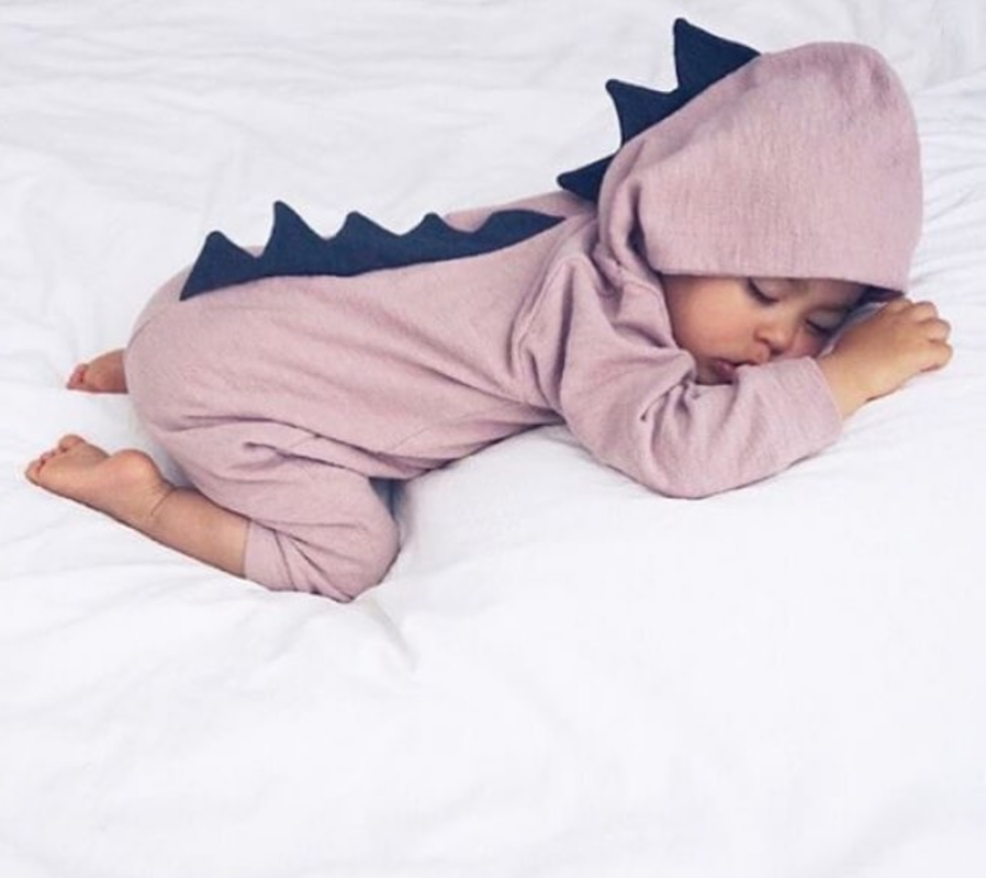 b42d7825847 You and your little one will absolutely love this amazing Dinosaur Baby  Romper Features  Available in multiple sizes. High quality and unique  design.