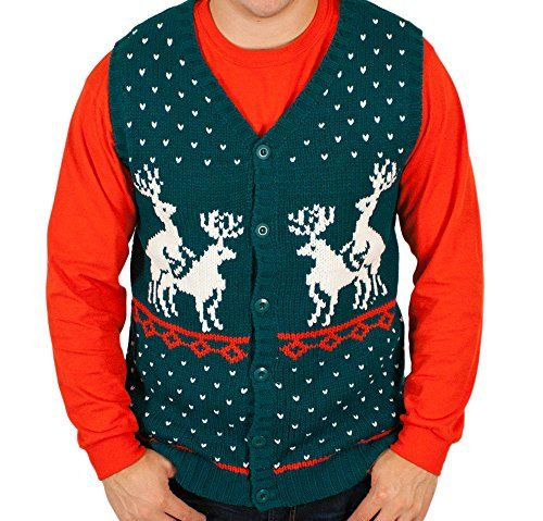 Ugly Christmas Sweater - Humping Reindeer Games Holiday Sweater ...