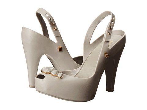 Melissa Shoes Melissa Ultragirl Heel Special Grey - 6pm.com
