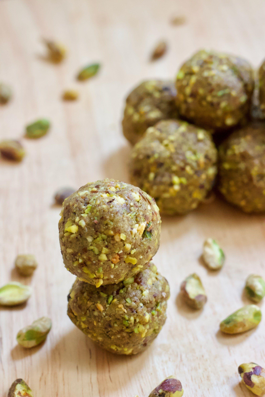 Matcha Pistachio Protein Balls Recipe Protein Ball Easy To