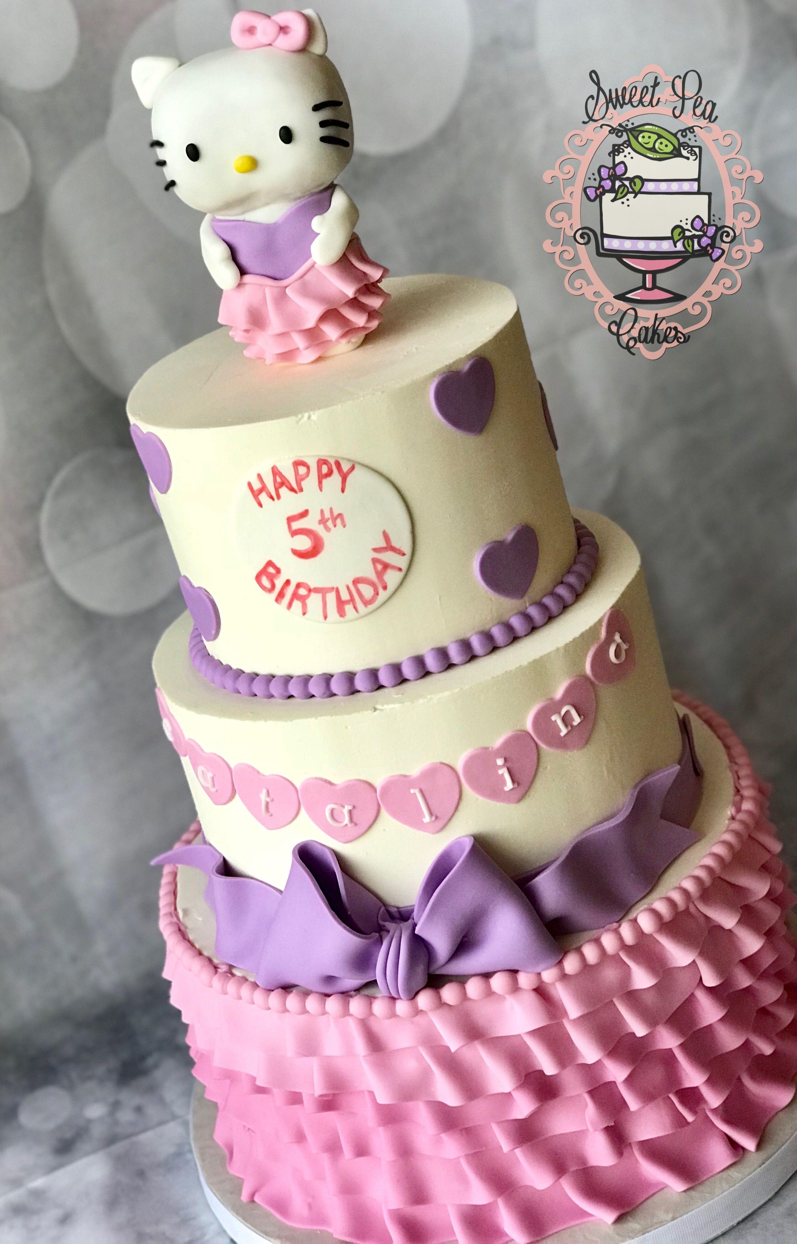Hello Kitty Birthday Cake @sweetpeacakesep | Sweet Pea Cakes El Paso ...