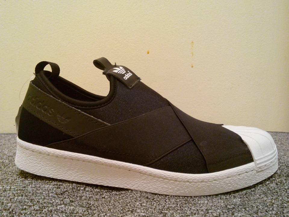 adidas superstar slip on size