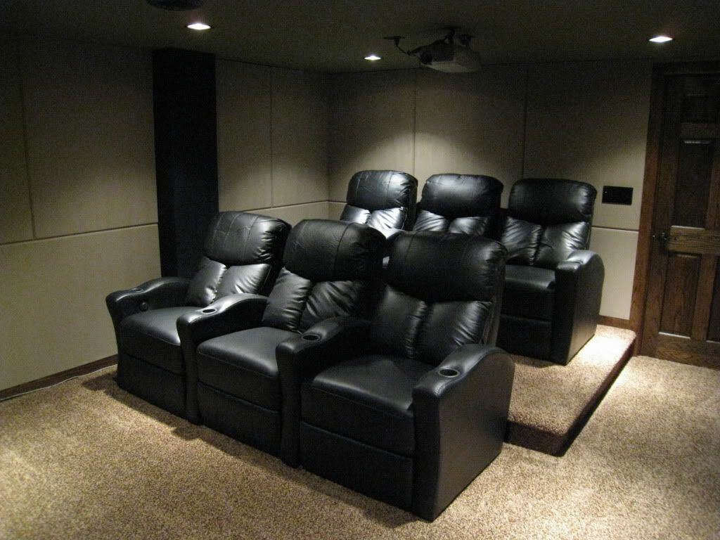 all work and all play home theater movie room ideas