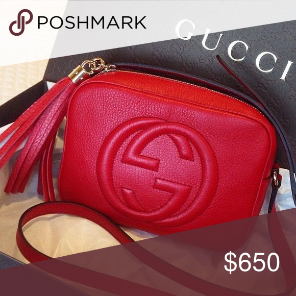 74a8fd98141 Gucci purse hot red ❤ Real authentic