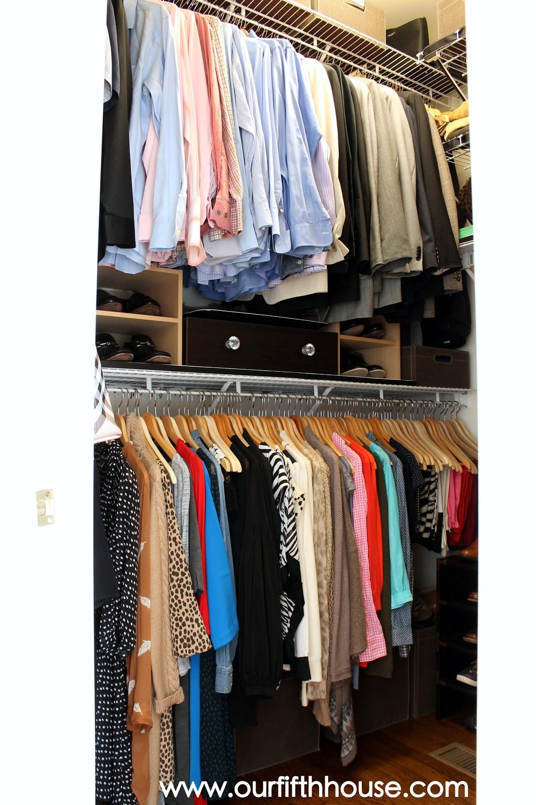 Our fifth house thinking outside the closet clothing storage ideas