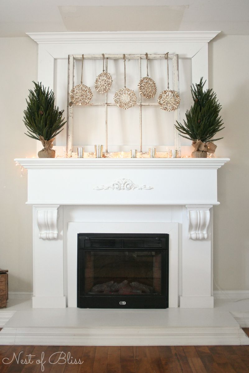 Super 25 Winter Fireplace Mantel Decorating Ideas Living Rooms Home Interior And Landscaping Dextoversignezvosmurscom
