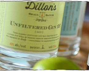 Dillon's Small Batch Unfiltered Gin 22