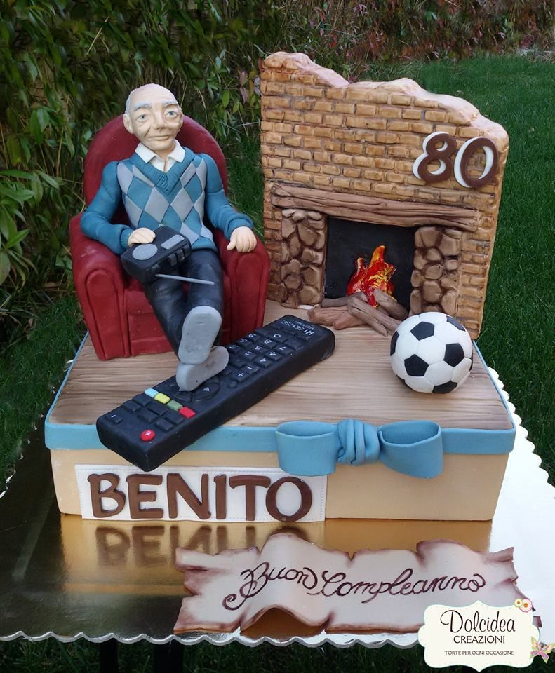 Torta relax nonno grandfather relax cake personalizados en