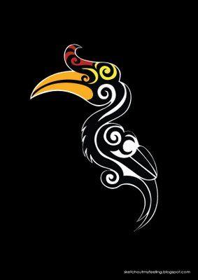 Hornbill Tattoo Ideas In 2019 Tattoo Designs Art