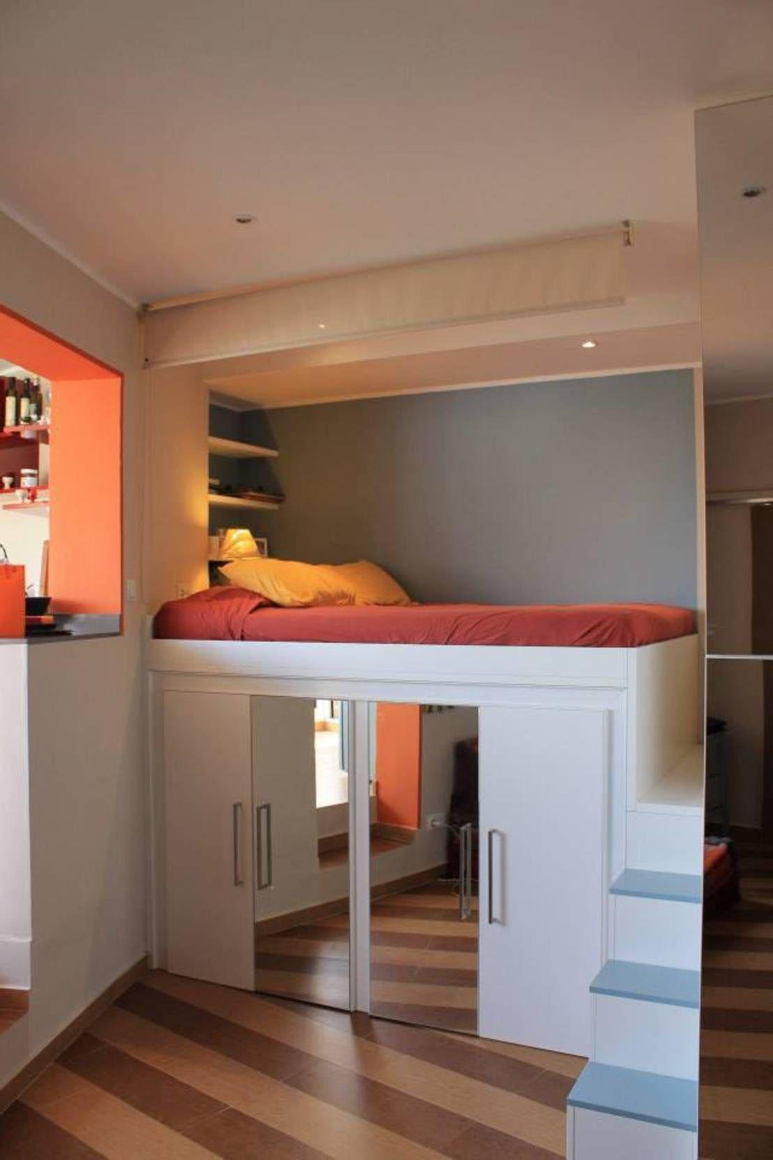 Boys loft bedroom ideas   ideas para optimizar el espacio en casas pequeñas  Bedrooms