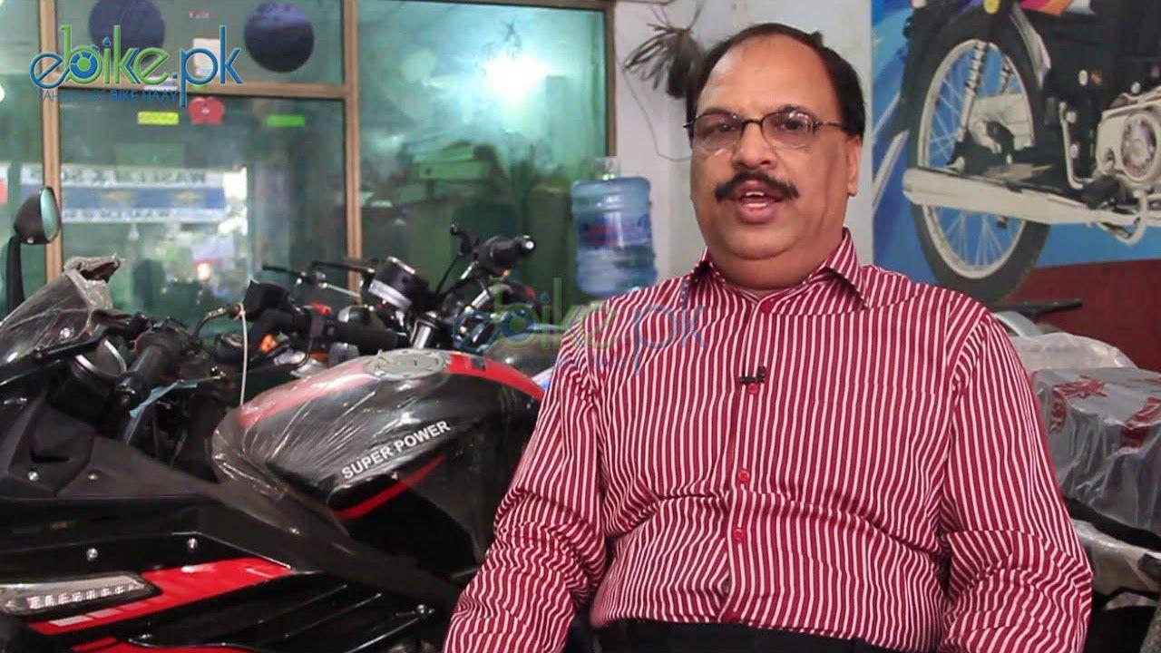 Motorcycle Industry in Pakistan Chairman APMA Sabir Shaikh