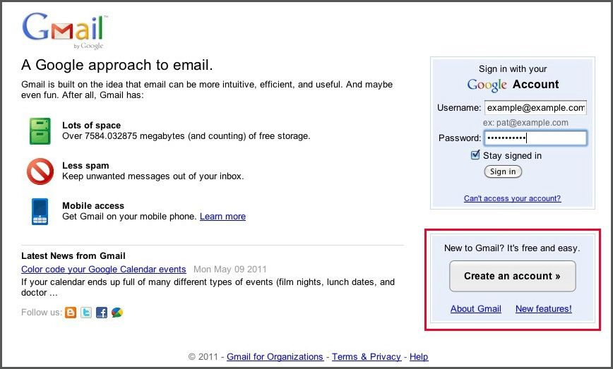Setting up Gmail to control all email accounts