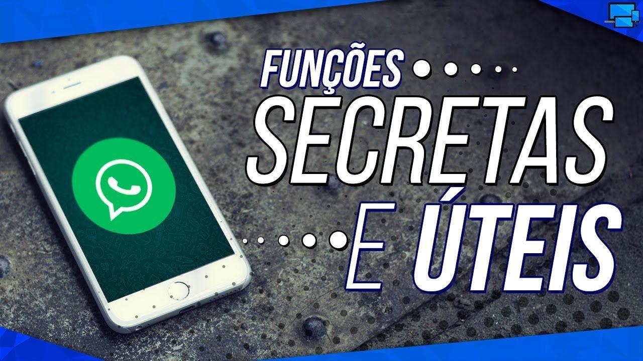 6 Funcoes Secretas E Uteis No Whatsapp Truques Que Talvez Voce