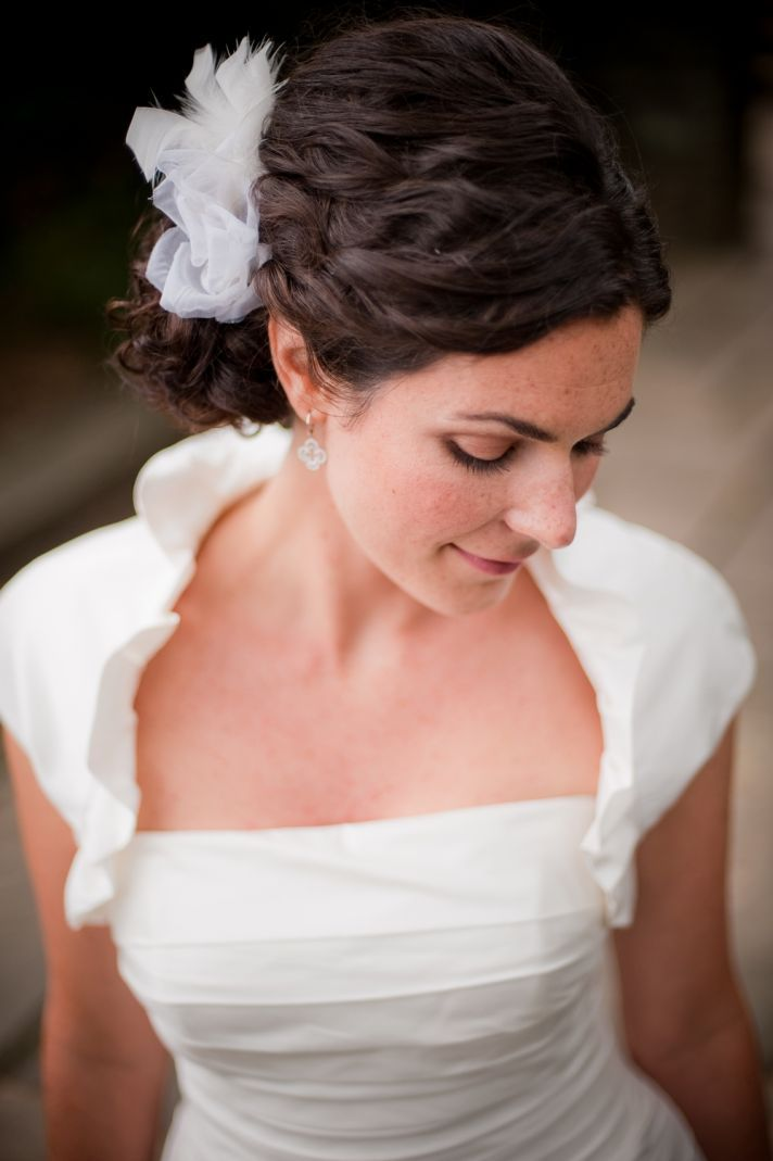 Wedding Hairstyles How To Naturally Curly Updo For Thick Haired Brides