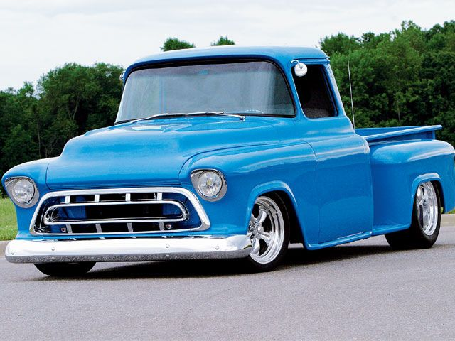 1957 Chevy Hot Licks Blue Ppg Color My 56 Had Similar Looks To This