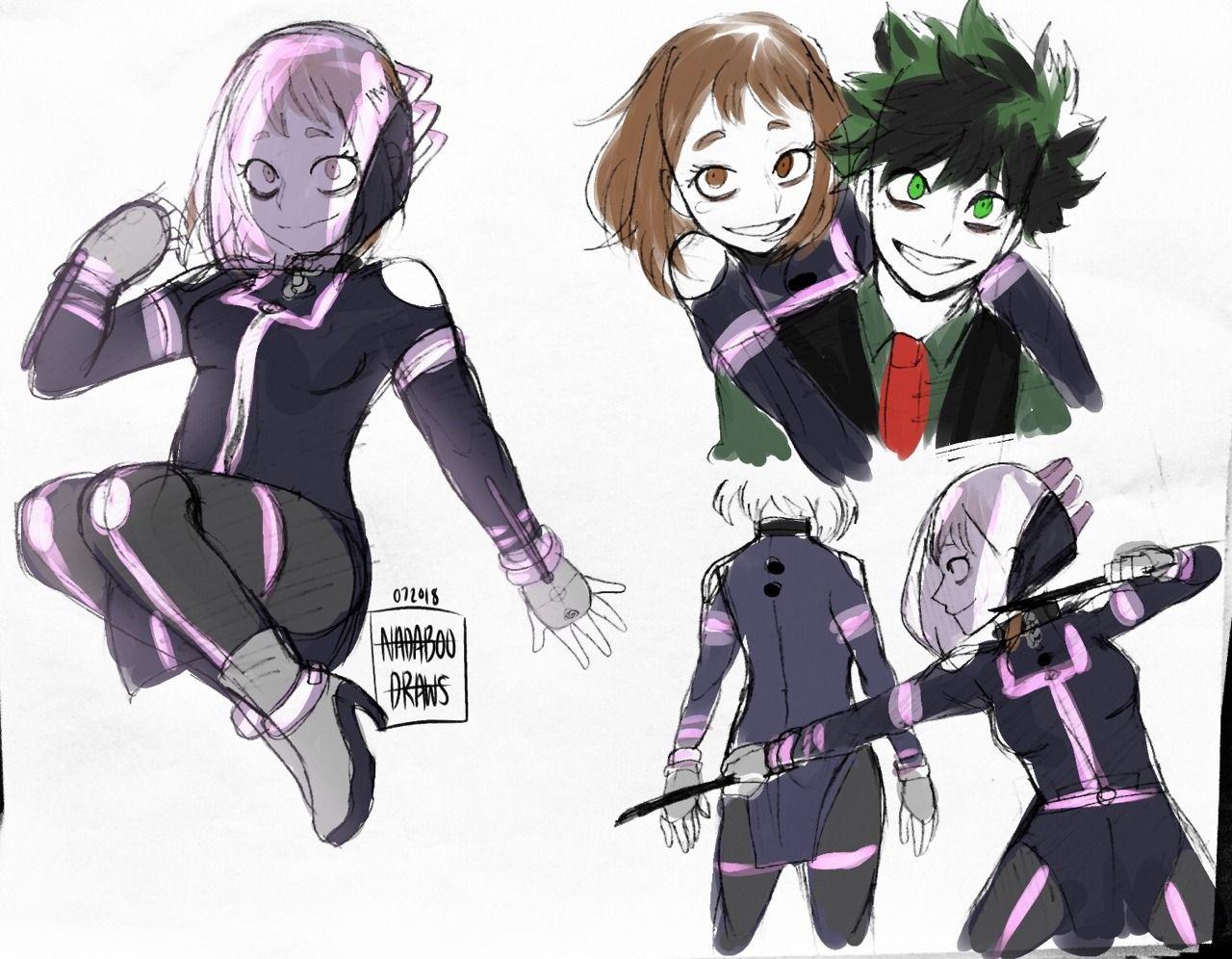 Hello Sketches Of Villain Class 1 A I M Still Making My Hero My Hero Academia Memes Boku No Hero Academia