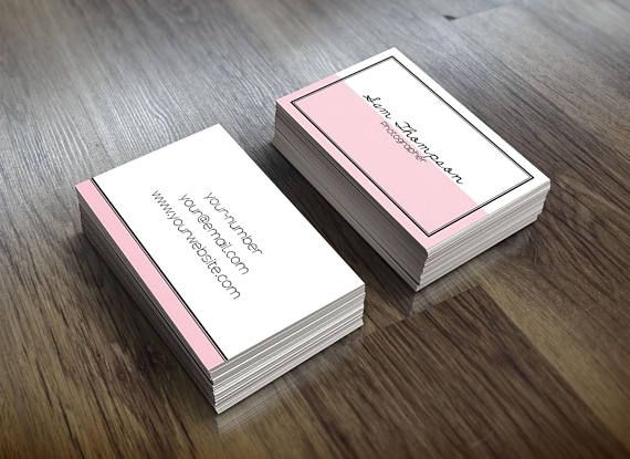 minimal business card business card design custom business card
