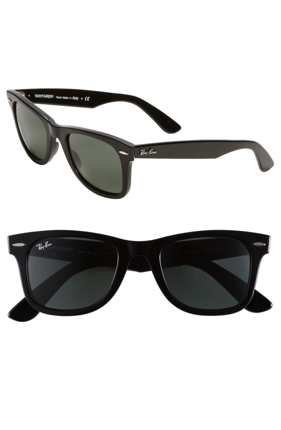 e8766790b3c  Classic Wayfarer  50mm Sunglasses by Ray-Ban - Found on HeartThis.com