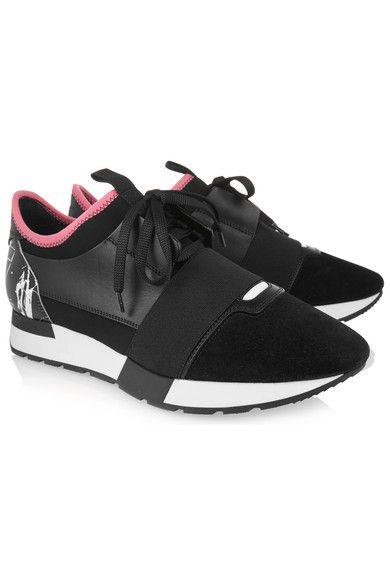 Balenciaga - Race Runner Leather efa5f1504