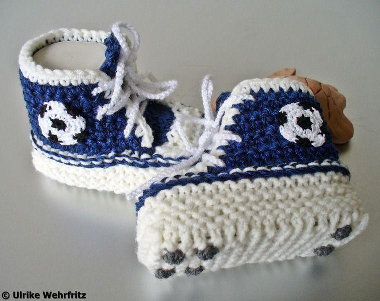 Sneakers Von Auf Fußballschuhe Strickliene Babyschuhe Turnschuhe dxorCeQBW