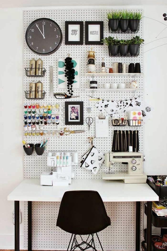 Home Office einrichten und dekorieren: 40 anregende Einrichtungsbeispiele #home