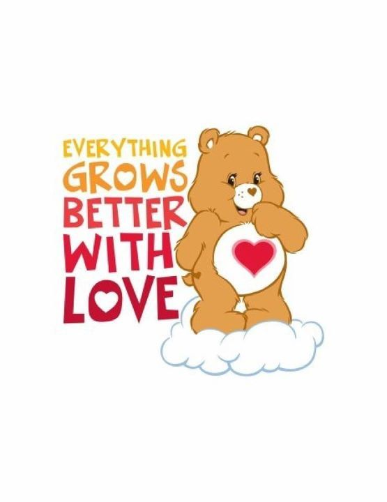 Pin By Nicole Didonato On Quotes Care Bears Care Bear Bear Quote