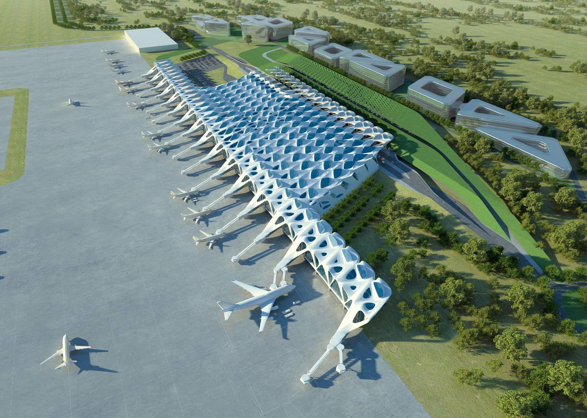 Zagreb Airport By Zaha Hadid Zaha Hadid Airport Design Zaha Hadid Design