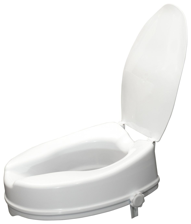 Buy Aidapt 4 Inches Raised Toilet Seat With Lid Raised Toilet