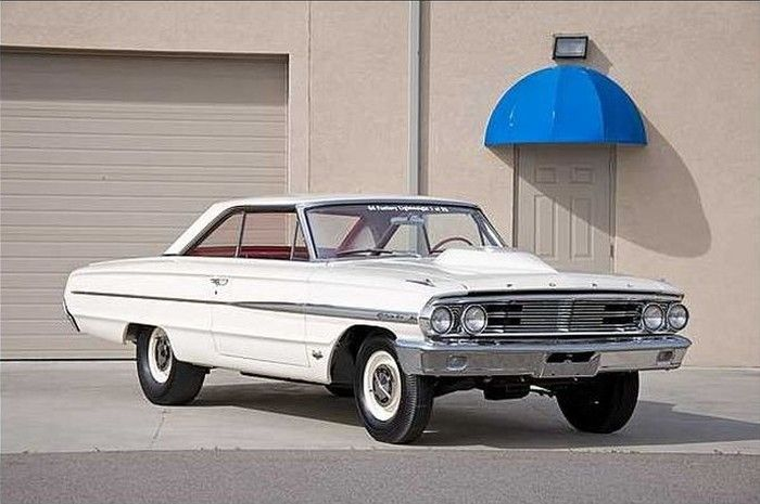 Lightweight 427 Ford Galaxie To Cross The Block At Mecum With
