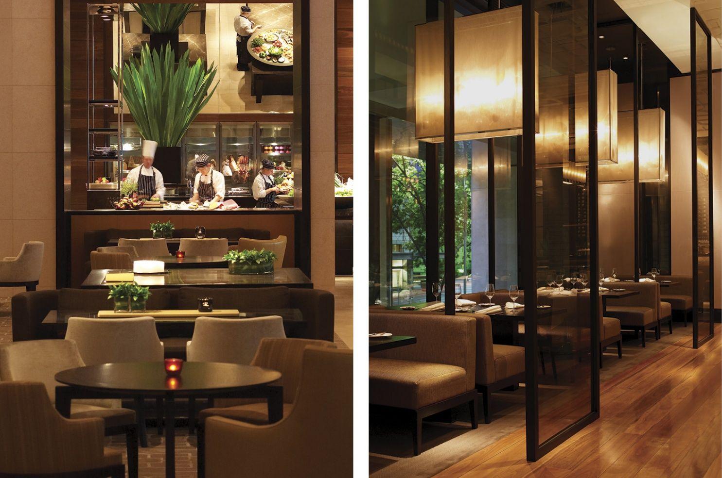 Melbourne Dining At Bistro Bar  Grand Hyatt Melbourne  Collins Captivating Park Hyatt Sydney Dining Room Decorating Design