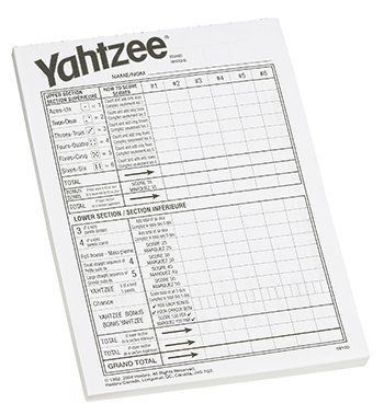 Here are some printable Yahtzee score sheets that you can print - canasta score sheet template