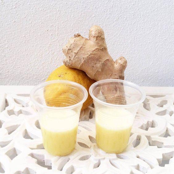Ginger Lemon shot recipe – Small shot