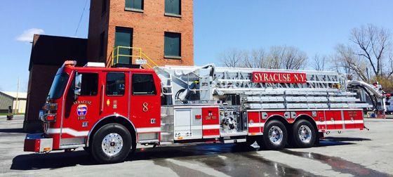 Sutphen 95 Foot Platform Quint Fire Trucks Fire Station Fire Apparatus