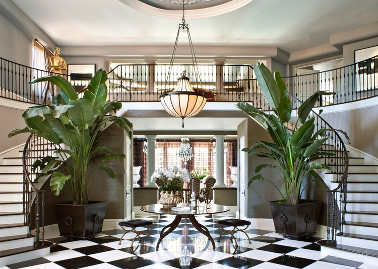 Kardashian Decor Interior Designer Foyer Hallway Get The Look