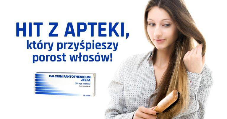 tabletki calcium pantothenicum - na wzrost włosów