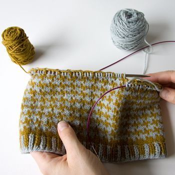 how to continental knit faster   ... much easier to keep my ...