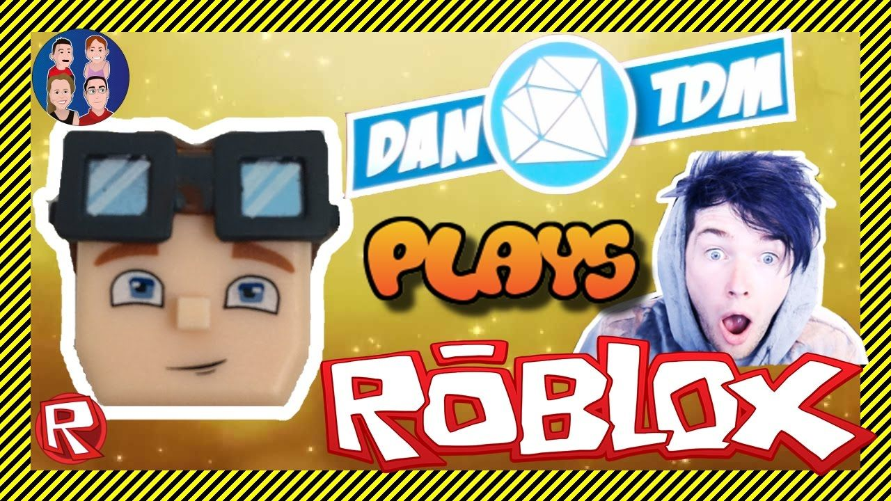 Dantdm Plays Roblox Epic Minigames With Dan Thediamondminecart