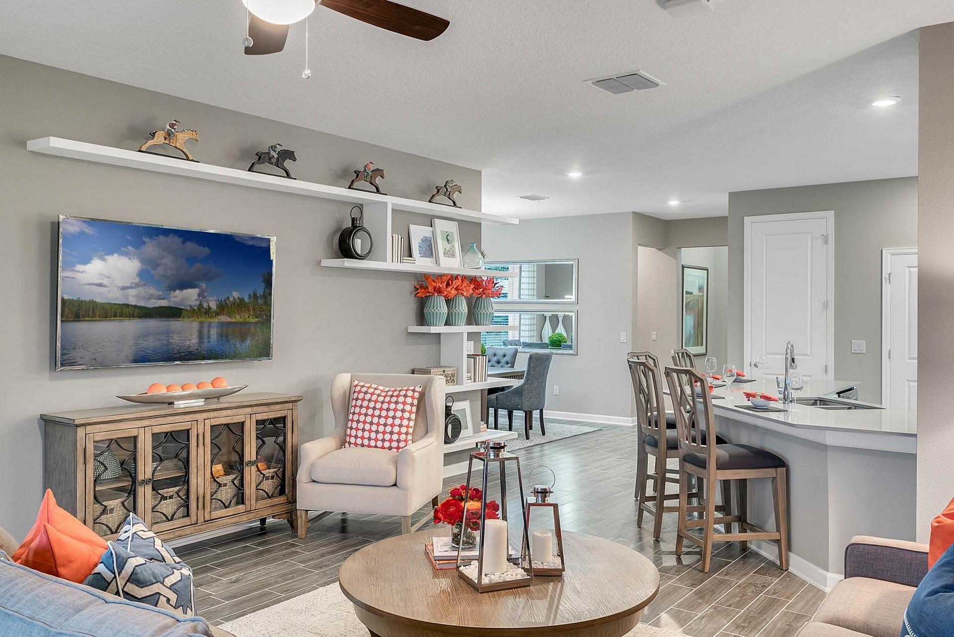 Interior Design And Merchandising Of Model Homes Model Homes