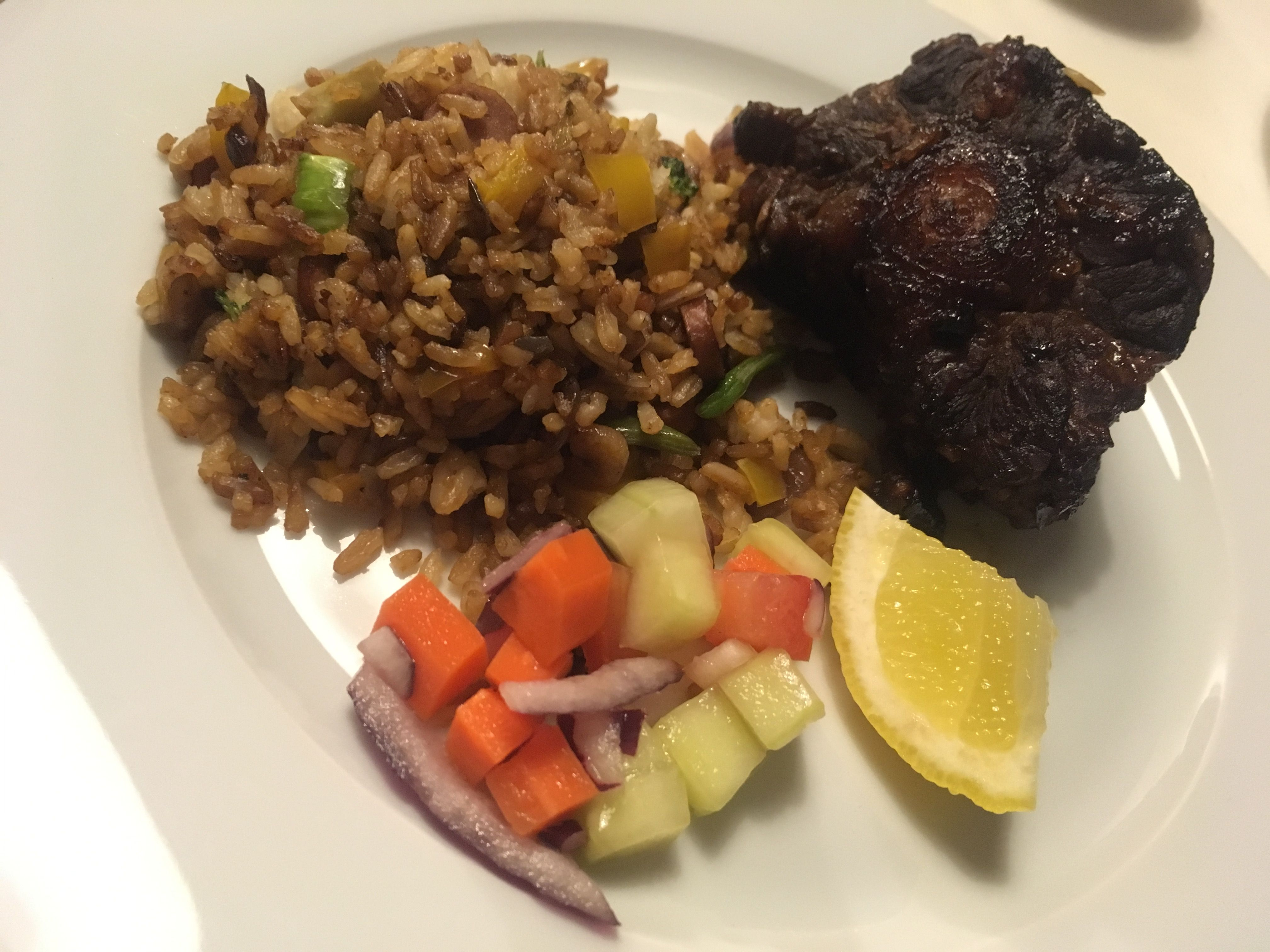 Fried rice oxtail oxtail food fried rice