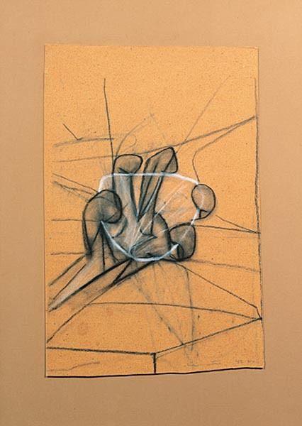 Mano agarrando concha transparente - Roberto Matta