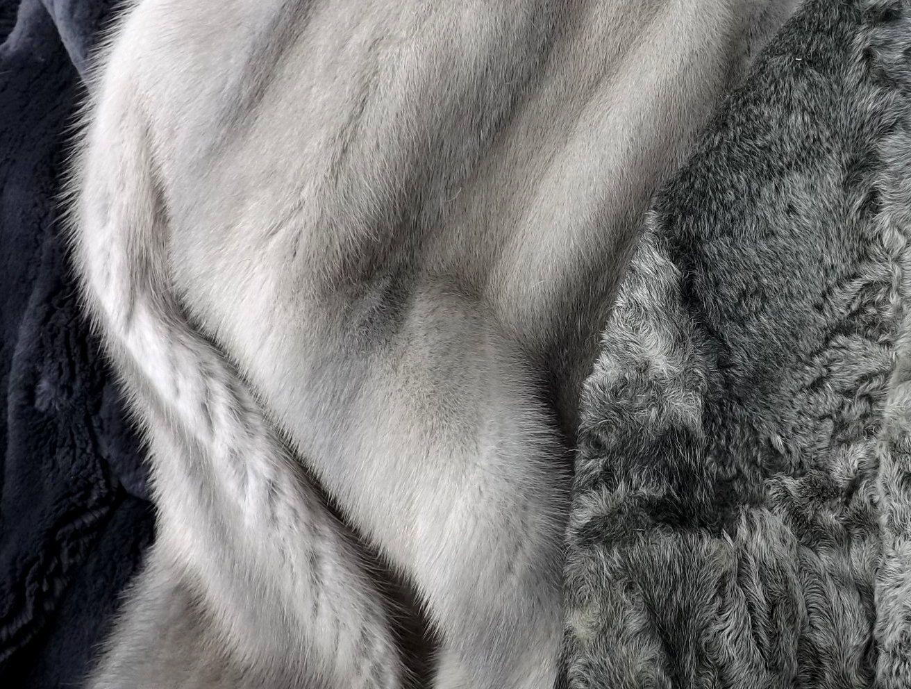 Neue Pelze - alle Vintage!  Persianer, Bisam, Nerz! Das werden die neuen Taschen!  Recycling von hochwertigen Pelzen!