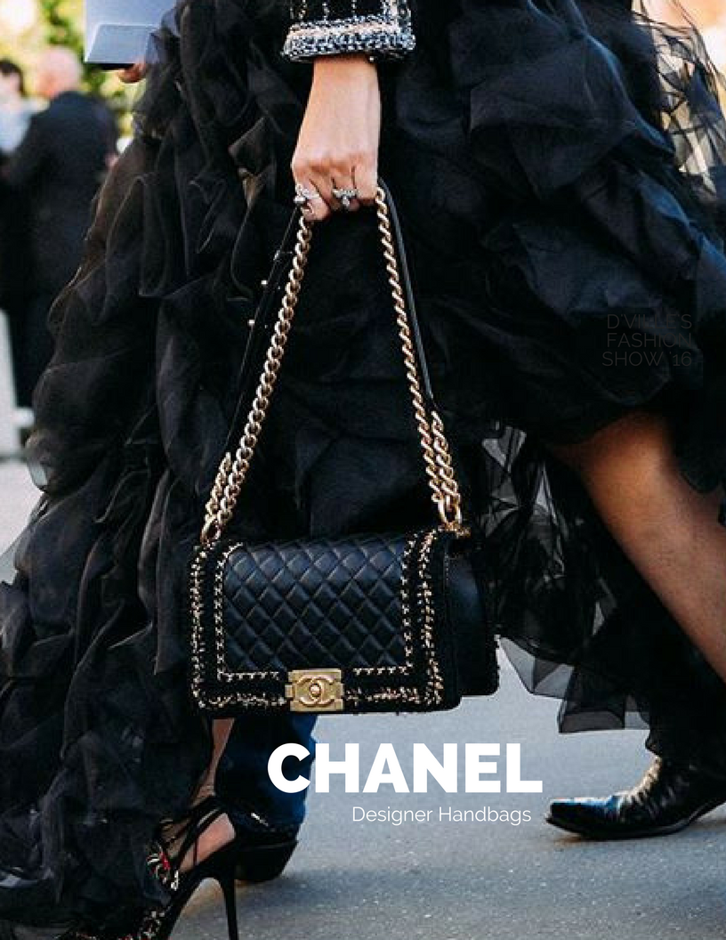 195a678274be  Chanel Designer handbags Chanel chic. Chanel handbags are well known for  their clean