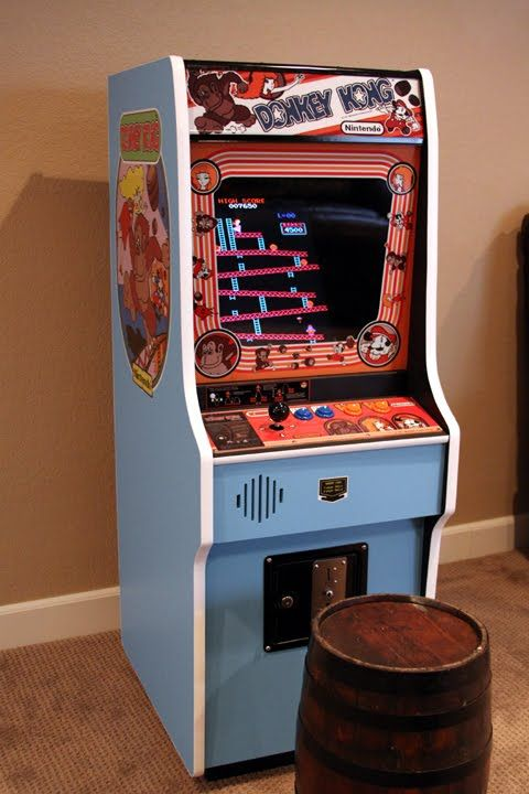 Mini Donkey Kong Arcade Cabinet Machine With Vertical