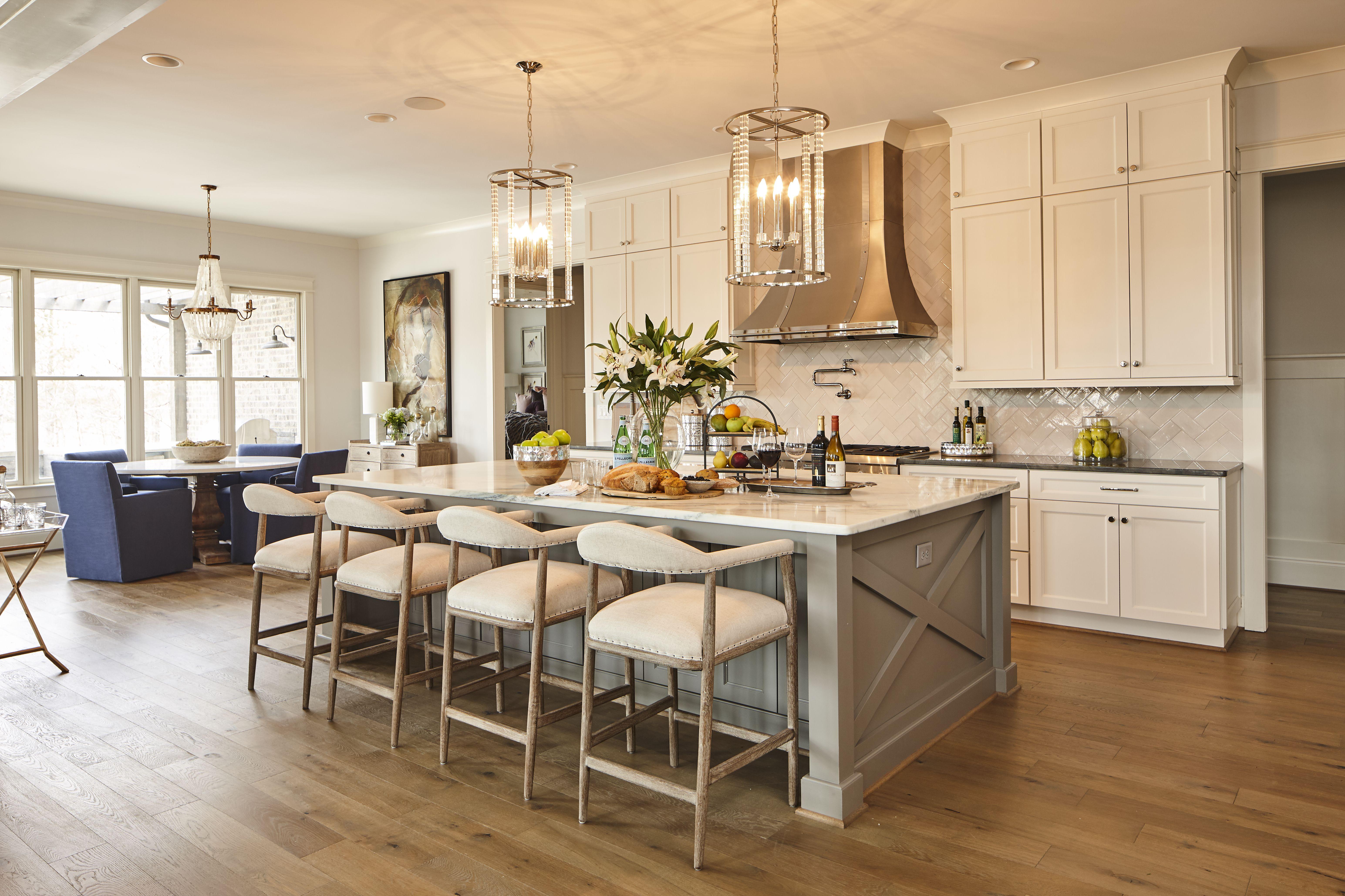 Kitchen Island Design Bar Height Or Counter Height Eastwood Homes Elegant Kitchen Island Elegant Kitchens Kitchen Pictures